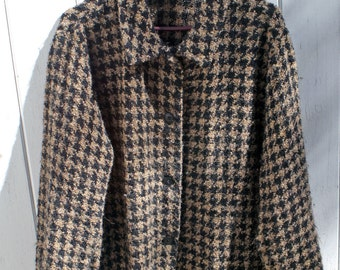 Irish Wool Jacket Handcrafted