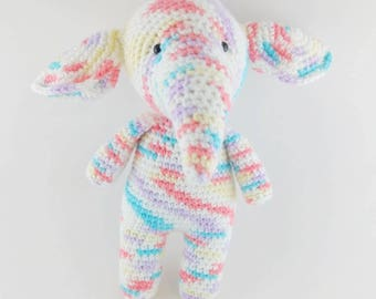 READY TO SHIP - Sweet Pastel Elephant