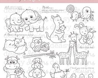 """Digital Stamp Art """" Forever Love """""""