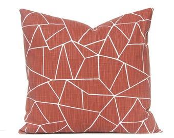 Deep Rust Pillow Cover- Decorative Pillow Cover - Copper Home Decor - Sofa Pillow Covers - Throw Pillow Cover - Designer Pillows