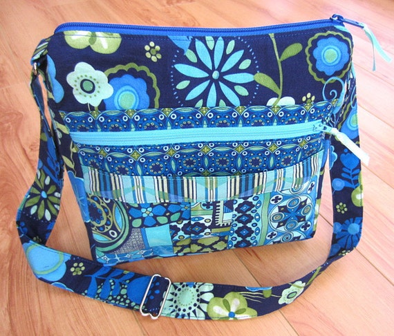My Easy Going Purse PDF Sewing Pattern Tutorial for Messenger