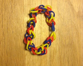 Rainbow Loom Single-Band Bracelet
