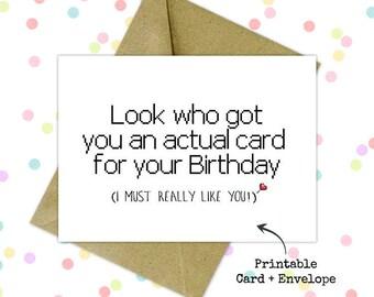 printable photo card