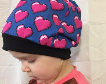 baby/toddler/child/teen/adult slouchy hats
