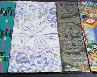 Vintage Wrapping Paper, 5 Sheets
