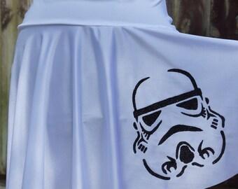 Storm Trooper Star Wars Running Skirt