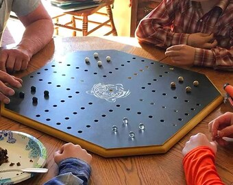 Wahoo or Aggravation Game Board