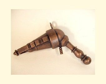 Gaussman 7 Steampunk Retro Ray Gun FULL Life Size Science Fiction WOOD Prop Replica