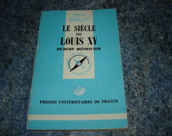 "Book ""the LOUIS XV century - I know (point of knowledge) 1994"""