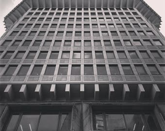 Ministry Of Justice, Brutalism Print, Architecture Print, Brutalist Photography, London Photography, Minimal Photography, St James's Park