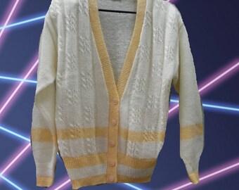 Vintage 80's Plus Size Sweater - Shoulder Pads - 80's Sweater - Vintage Plus Size - Vintage Sweater