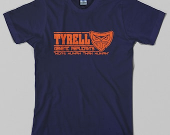 Tyrell Genetic Replicants T Shirt - blade runner, harrison ford, cyber punk, 80s - Graphic tee, All Sizes