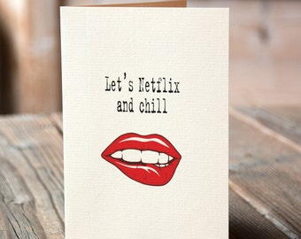 Let's Netflix and chill
