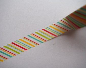 Assorted Colorful White Washi Tape for Scrapbooking, Planning and Journalling!