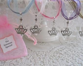 Princess  Party Favor Necklaces, Princess Necklaces, Jewelry, Childrens Necklaces, Party Favors, Princess Party Favors, Princess Jewelry