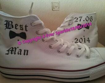 Best Man Custom Converse