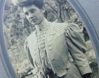 Antique Woman - Antique Edwardian Photograph