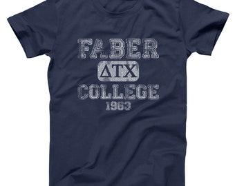 Faber College Funny Animal House Frat Party Basic Men's T-Shirt DT0599