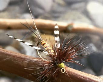 Halliday's Hex || Dry fly-|| Set of two || Hand Tied ||