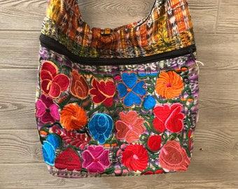 Oaxacan Embroidered Crossbody Purse
