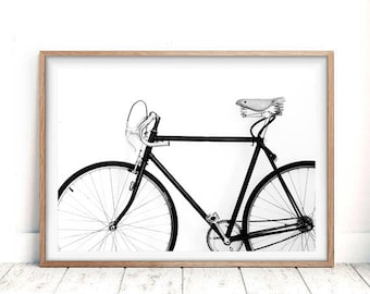 Cycling poster, bike print, bicycle poster, bicycle wall art, bicycle art, printable wall art, cyclist gift, bike gift, bicycle art posters