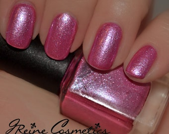 Pink Champagne (Discontinuing) - Pink Sparkle shimmer Nail Polish