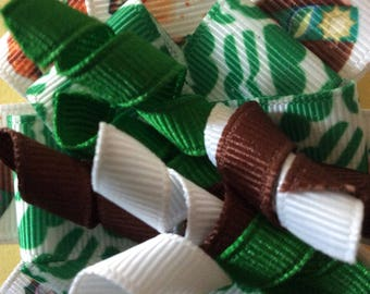 Girl Scout Hair Bows