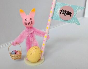 Vintage Easter Bunny Mini