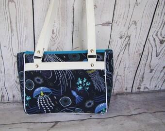 Dandelion Double Zip Shoulder Bag