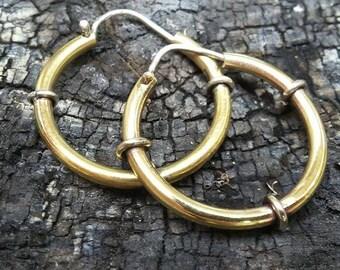 Hoop Earrings, Minimalist Earrings,bronze  Hoop Earrings, Big Hoops, brass Hoops, Big Hoop Earrings, Simple Hoop Earrings, Silver Hoops