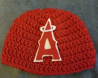 Angeles beanie hat crochet baby child adult photo prop