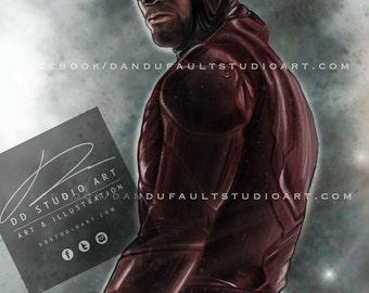 "Daredevil 11x17"" Artist Signed Print"