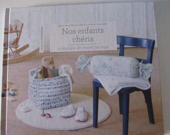 "Book ""our children cherish embroidery in stem stitch"""