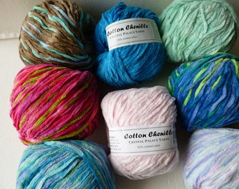 Sale  Cotton Chenille by Crystal Palace Yarns