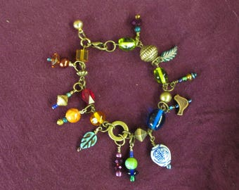Fun and colorful Charm Bracelet