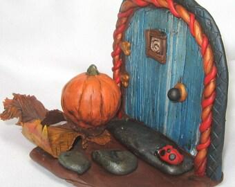 Fall Fairy Door, Miniature Fairy Door, Miniature Door, Magical Fairy Door, Fairy Portals, Fairy, Fairy Garden, Fairy Door, Fairy Portal