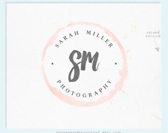 Premade Logo / Watercolor Logo / Photography Logo / Wedding Logo / Business Logo / Wedding Photography Logo / Watercolour Logo