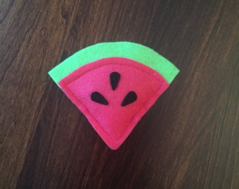 Watermelon Slice Cat Toy - Organic Catnip Cat Toy