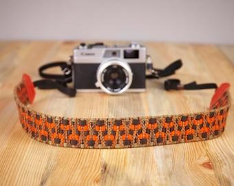 Camera Strap. Hand Made Camera Strap. Exotic Camera Strap. SLR, DSLR Camera Strap. Gift For Photographer.