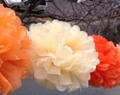 """6-cadeaux papier Tissue Pom Pom mariée douche Decor tissu Pom Pom papier décorations papier fleurs mariage décoration papier Pom 8 « 10 » 12 """""""