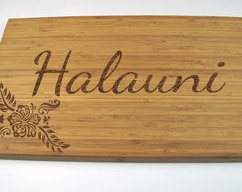 Personalized Cutting Board - Custom Engraved - Wedding Gift, Christmas Gift, Anniversary Gift, A-18