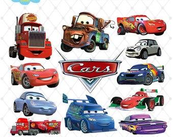 Cars Clipart PNG Clip Art Files Printable Images Digital Download Scrapbook
