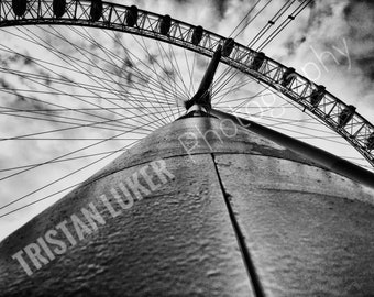 The London Eye, London 8X6 Print - Tristan Luker Photography
