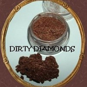 10g DIRTY DIAMONDS Natural Crushed Mineral Makeup EYELINER/Eyeshadow