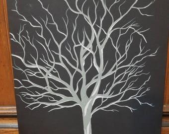 Medium Abstract Painting (Canvas Panel)