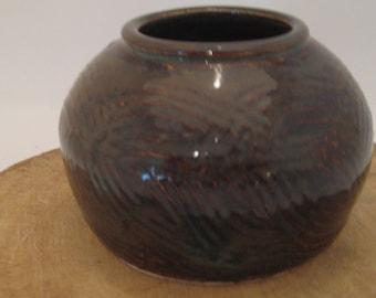 Wheel Thrown Pottery Round Vase