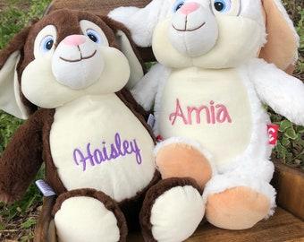 Personalized Stuffed Animal, Monogrammed Stuffed Animal, Monogrammed Cubbies,Cubbies Stuffed Animal, Monogrammed Bunny