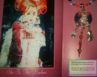 Art Jewel Necklace Handmade Jewelry Gifts - Oppergod