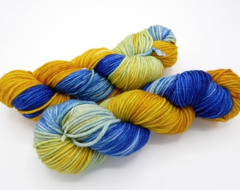 Very Starry Variegated Merino Worsted Hand Dyed Yarn - In Stock