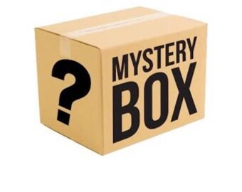 Mystery box - mystery bag - goodie box - goodie bag - gift box - gift bag care package - surprise box - surprise bag - grab bag - grab box